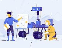 Talio Website Illustrations