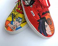 I Naruto I Hand Painted Shoes I