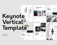 Keynote Vertical Presentation Template