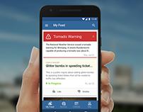 Mobile App for Winnipeg Smart City Initiative