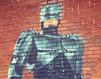 4 Murals - Detroit Grass Station - E Grand Blvd,Detroit