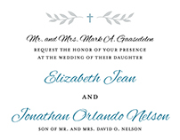 Betsy & Jon - Wedding Invitations
