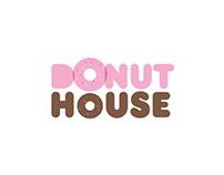 Donut House logo