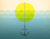 Anchor From The Sun Music Poster for Andrew McMahon