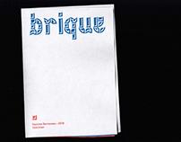 Brique—Modular Typeface Specimen