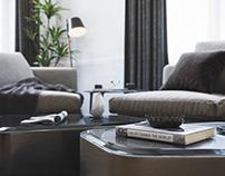 Neoclassic Livingroom