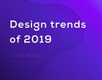 DESIGN • TRENDS • 2019 • WEB • UI/UX • 3D • ANIMATION