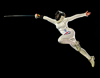 Dirley Yepes, Fencer