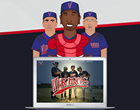 Villas Vikings Website