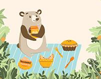 Baby Bear's Picnic Adventure