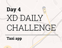 XD Daily Challenge DAY 4 - Taxi App