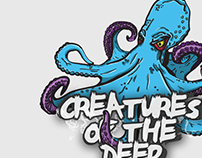 Octopus Illustration - Creatures of the Deep