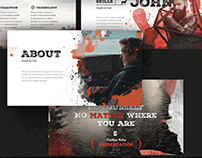 Retroo-Powerpoint Template