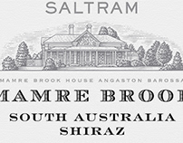 Mamre Brook Label Illustrated by Steven Noble