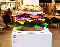 Fashion Burger Artwork