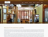 Vashishtha Law Office Home page Design