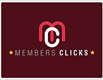 Members Clicks Panamá - Logo, Web, Marketing -