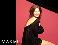 MAXIM- Behind the Scenes with kalki Koechlin