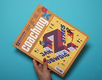 Cover & illustrations for Coaching Extra magazine