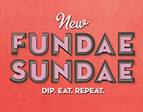 Baskin Robbins - New Fundae Sundae Launch Campaign
