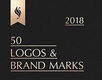 50 LOGOS & BRANDMARKS 2018