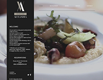 Alexandra Private Chef Website