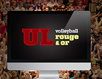 Volleyball Rouge & Or - Vidéo promotionnelle
