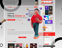 Alister - Personal CV/Resume Site