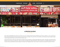 Jazirat Rif Restaurant Website