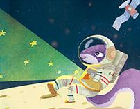 Ajonjoli the purple squirrel