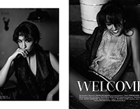 Welcome for Afi Magazine