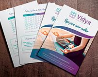 Identidade Visual Vidya Centro de Yoga