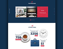 Marketing company web site. R&C Rusfet & Company.