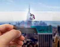 Translucent Plastic Business Cards