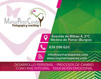 Business Card / Tarjetas de Visita: Marisa Pérez Conde