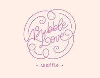 Bubble Love Waffle   Branding