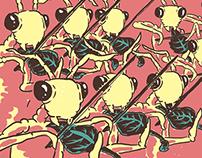"KISHI BASHI ""Strings Concert Poster"""