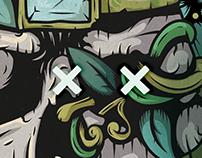 Tracktation Island — poster design