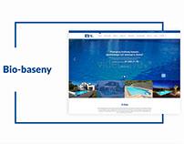 Bio-Baseny - website
