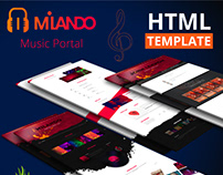 Milando - Music Portal With Track Playback Online Store