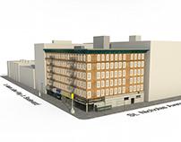 3D Map Detailed Building