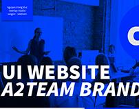 UI WEBSITE FOR A2TEAM
