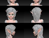 3D modeling Zbrush
