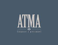 ATMA Finance and Personnel - signage & identity design