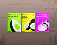 Eindhoven Vegan Rooftop Festival — Branding design