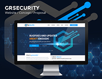 grSecurity - website concept