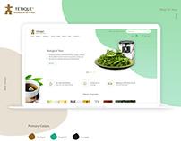 Tetique - Website Redesign