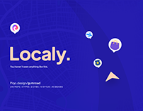 Localy — Map kit × 6 Cities in 10 Styles