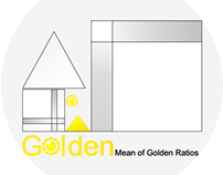Logo: Golden Mean of Golden Ratios - Cover