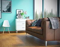 851-02-Interior Flooring Template